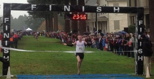 John Gilbertson of The Master's won the NAIA Men's Cross Country individual title.