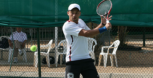 Westmont Moves to Men's Tennis Semifinals with Win