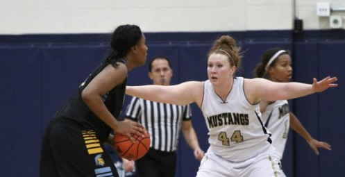 Lady Mustangs Rally Past Cougars