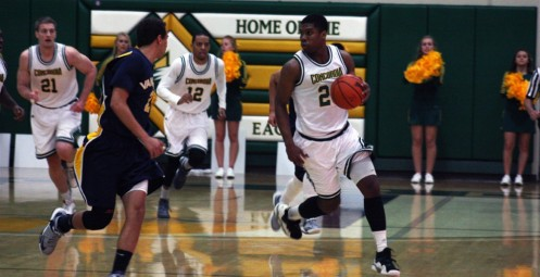 Smith's Last Second Jumper Spurs Concordia Over Vanguard