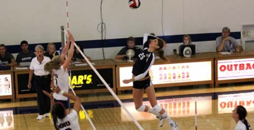 Vanguard Volleyball Sets the Roof on Fire with Win Over Azusa Pacific