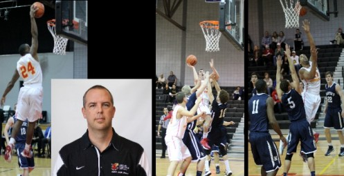 Coach Jeff Rutter and guards Charles King and A.J. Koch and forward Jordan Block have led ACU to first NAIA ranking