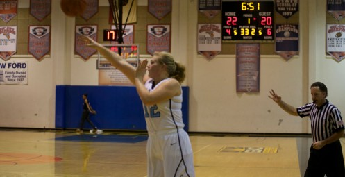 SDCC's Heather Serven Connects on a 3-Pointer