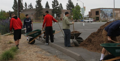 San Diego Christian Men's Basketball Concludes Year with Service Project