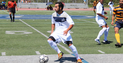 Shahram Aghayousef converted the golden goal game winner on Monday (Photo by Dana Petersen)