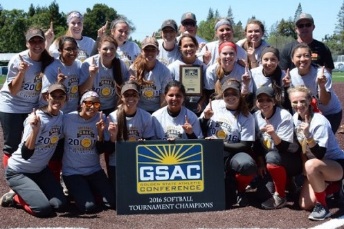 ACU Softball- the 2016 GSAC Champs