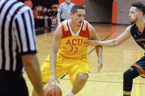 Mike Navar- the lone GSAC MBB player to be selected CoSIDA Academic All-District (Photo by Keith Moody)