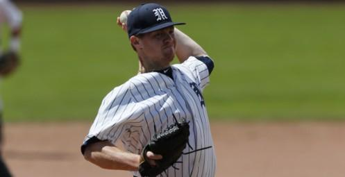 Mustangs' A.J. Work picks up 13th win of season (photo courtesy NAIA National Office)
