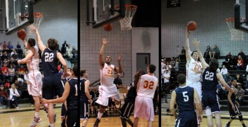 A.J. Koch (18), Jordan Block (26), and Jackson Helms (15) combined for 59 points in ACU's 93-78 GSAC semifinal win over Hope