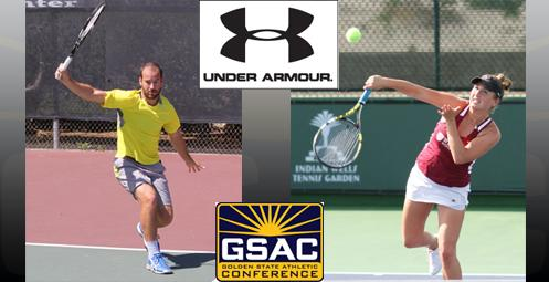 Stefan Kilchofer (Vanguard) and Lauren Stratman (Westmont) are the GSAC Players of the Year
