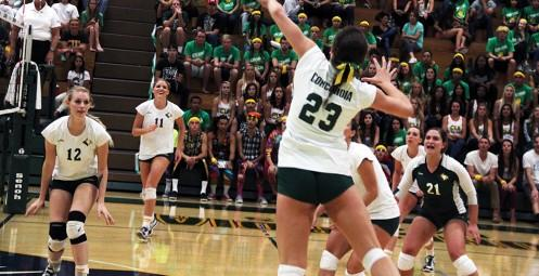 Madison Ekis elevates against Westmont