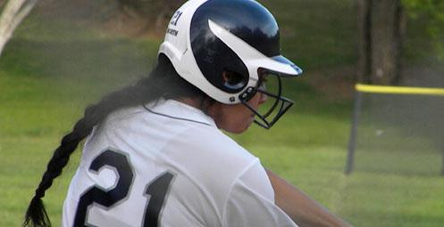 Julie Lopez scored the game winning run in game one on Tuesday (Photo by HIU Sports Information)