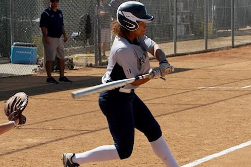 Justice Walker scored the winning run for HIU after leading off the sixth with a triple